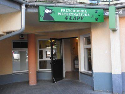 Przychodznia Weterynaryjna 4 Łapy Olsztyn