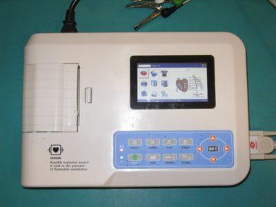 Aparat do badania EKG - Przychodnia Weterynaryjna 4 Łapy Olsztyn